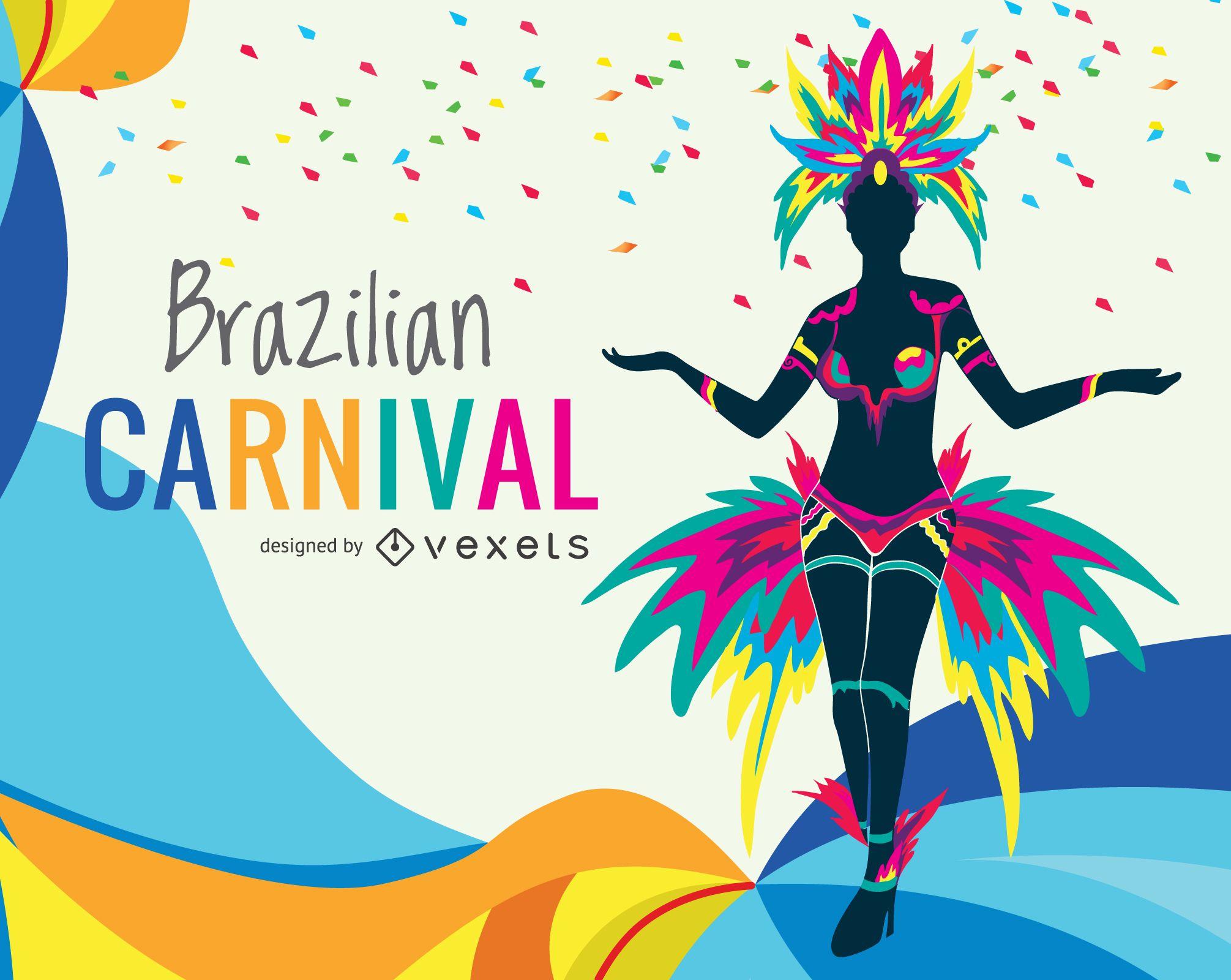 Colorful Carnival illustration