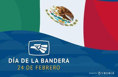 Dia de la bandera de Mexico