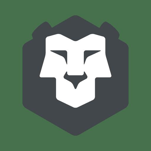 Logo de leon Transparent PNG