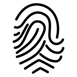 Swirled fingerprint drawing
