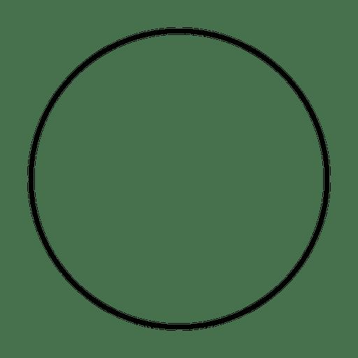 Círculo redondo
