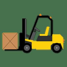 Gabelstapler-Logistik