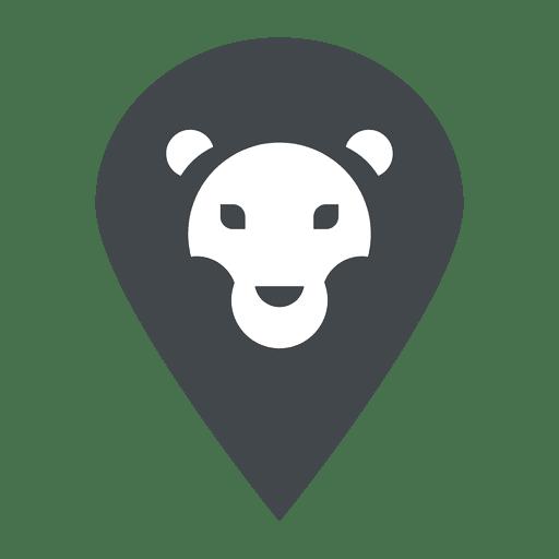 Lion logo safari