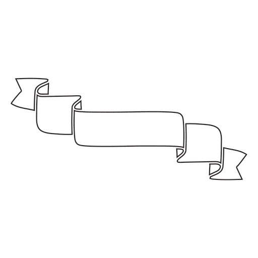 Minimalist Ribbon Label Emblem