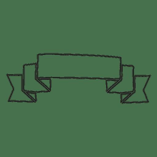 Ribbon Label Emblem Vector