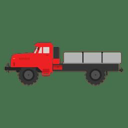 Caminhão lateral colorido