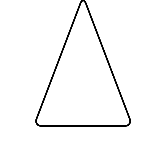 Scalene Triangle Outline Triangle basic ...
