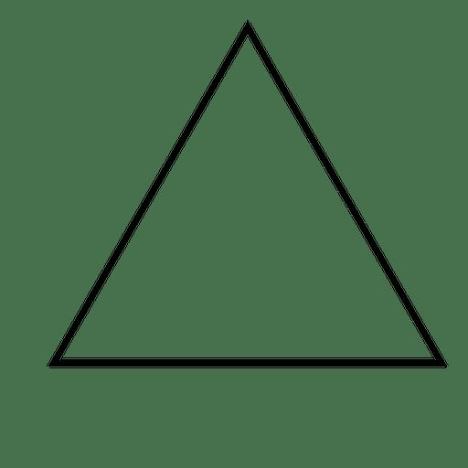 Trazo triangular