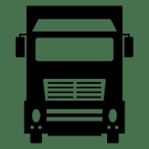 Silueta de camion Transparent PNG