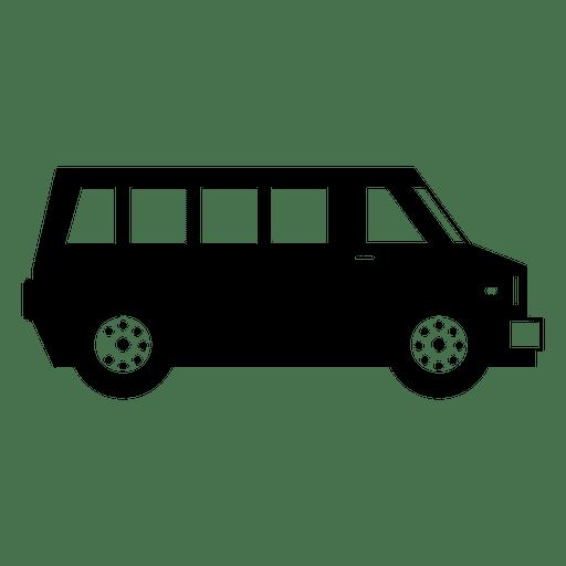 Carro de transporte negro Transparent PNG