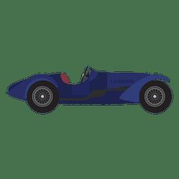 Design de carro de corrida vintage