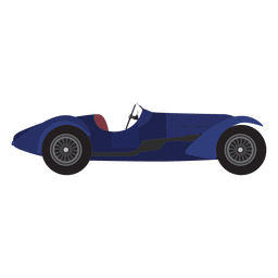 Diseño de coches de carreras de época