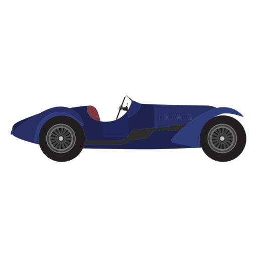 Vintage Race Car Design Transparent PNG