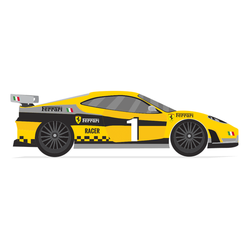 Ferrari race car  Transparent PNG