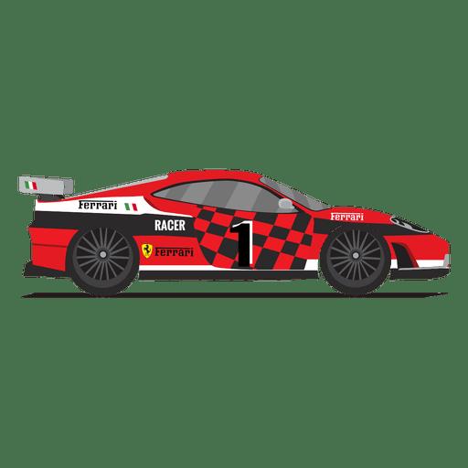 Ferrari racing car race Transparent PNG