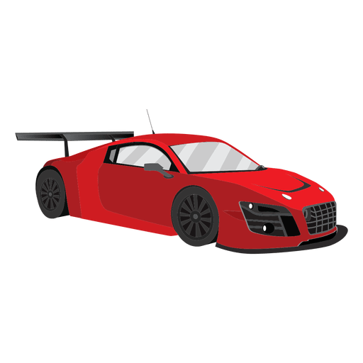 Ilustraci?n de carreras de autos de carrera