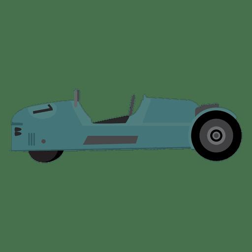 Race car racing drawn Transparent PNG