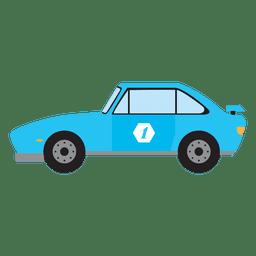 Carreras de coches de carrera de la vendimia