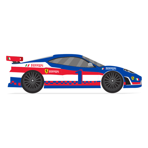 Race Car Racing Side View Transparent Png Svg Vector