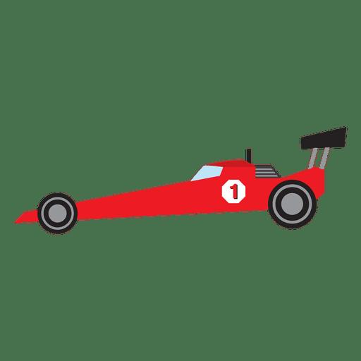 Formula One racing car cartoon Transparent PNG