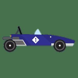 Carrera de carreras de coches de época