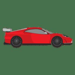 Corridas de velocidade do carro de corrida