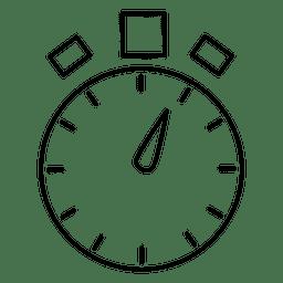 Tiempo cronómetro temporizador