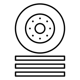 Icono de carreras de coches de ruedas