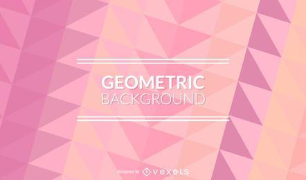 Pastellrosa polygonaler Hintergrund