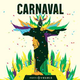 Carnaval de Rio illustration