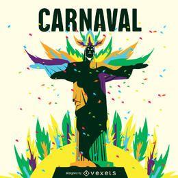 Carnaval de Rio ilustração