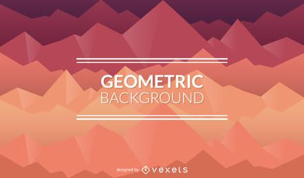 Polygonal background in orange and purple