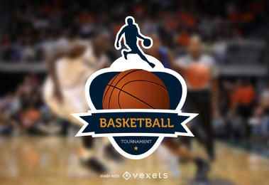 Fabricante de logo de baloncesto