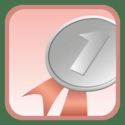 1st position badge button