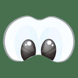 Dibujos animados de ojos de animales