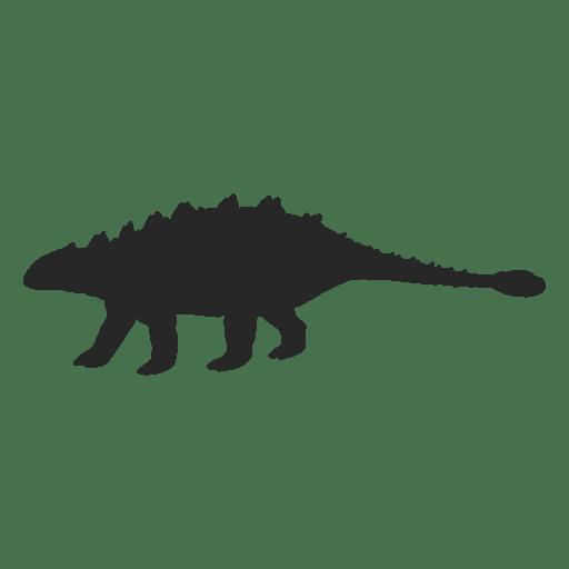 Silueta de ankylosaurus Transparent PNG