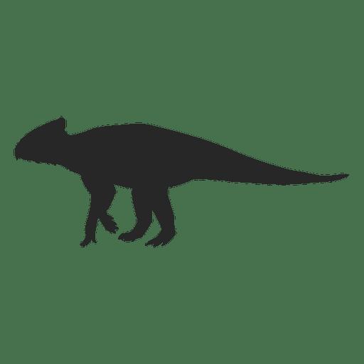 Silueta de archaeoceratops Transparent PNG