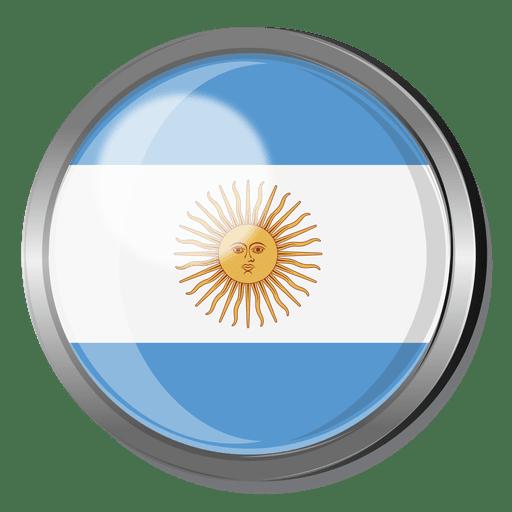 Argentina Flag Badge Transparent Png Svg Vector File