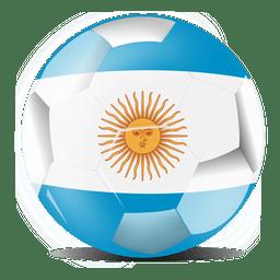 Bandera de fútbol de Argentina