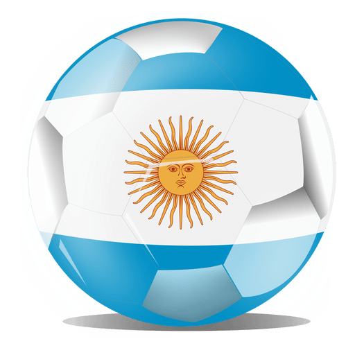 Argentina football flag - Transparent PNG & SVG vector