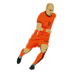 Arjen robben cartoon
