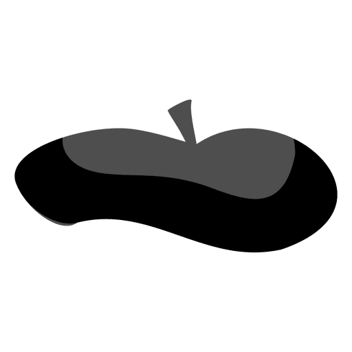 Sombrero de artista de dibujos animados Transparent PNG
