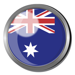 Australia flag badge