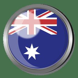 Distintivo de bandeira da Austrália