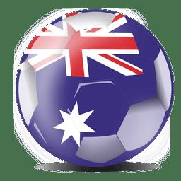 Australien-Fußballflagge