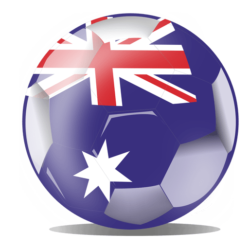 Australia football flag Transparent PNG