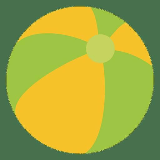 Dibujos animados de la bola de verano Transparent PNG