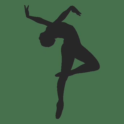 Ballet dancer backwards