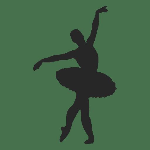 Dançarina de balé epaule