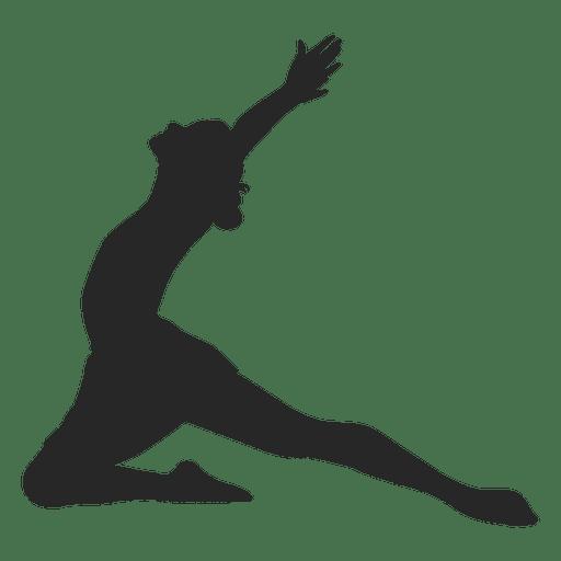 Ballet dancer floor Transparent PNG